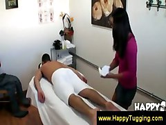 Asian Masseuse Slips Hand Under The Towel