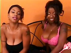 Vanessa Blue Kitten Double Blowjob