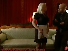 Busty Angel Vain Gets Bound, Punished, And Fucked For Stealing