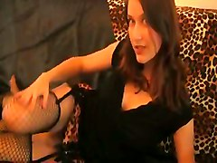 Nephael Leopard Strip Tease Of A French Babe