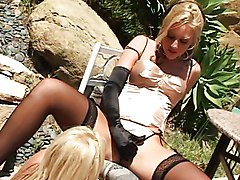 Brittney Skye And Her Girl Outdoor