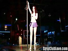 Private Performance In The Strip Club