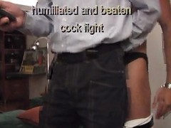 Cock Fight With Humiliation