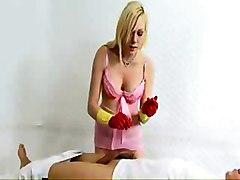 Humiliating Hand Job