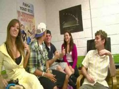 College Dorm Sex Game With Hot Chicks