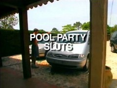 French Pool Party Sluts