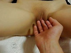 Shaved Korean Getting Fingered And Having Sex