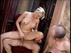 Bisexual Threesome And Strapon 3