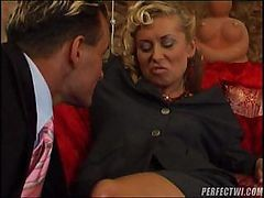 Horny Milf With Her Lover And His Big Cock Doing Some Hot Fucking